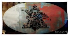 Anheuser Busch Eagle Painted Beach Towel