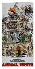 Animal House  Beach Sheet by Movie Poster Prints