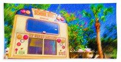 Anna Maria Elementary School Bus C131270 Beach Sheet