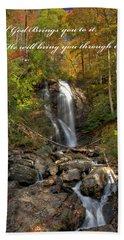Anna Rby Falls 3 Beach Towel