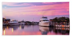 Annapolis Sunrise Beach Towel