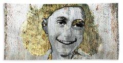 Anne Frank Beach Towel