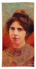 Annie Kenney, Suffragette Beach Towel