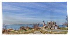 Annisquam Harbor Lighthouse Beach Towel