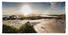 Another Beach Sunset Beach Towel