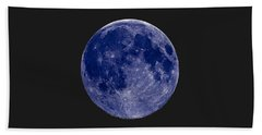 Another Blue Moon Beach Towel
