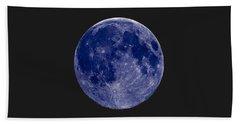 Another Blue Moon Beach Sheet
