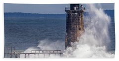 Another Day - Another Wave Beach Towel