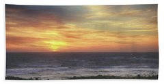 Another Goodbye Beach Towel by Laurie Search