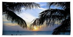 Another Key West Sunset Beach Towel