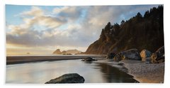 Another Moonstone Sunset Beach Towel by Mark Alder