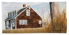 Another New England Sunrise Beach Towel