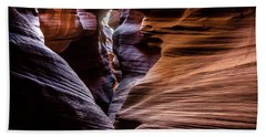 Antelope Canyon 8 Beach Towel