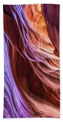 Antelope Canyon Air Glow Beach Sheet