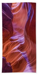 Antelope Canyon Beauty Beach Sheet