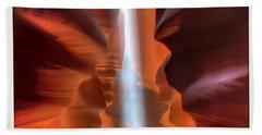 Antelope Canyon Light Beach Sheet