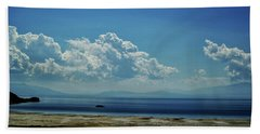 Beach Towel featuring the photograph Antelope Island, Utah by Cynthia Powell