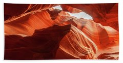 Antelope Canyon, Howling Wolf Beach Towel