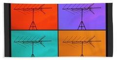 Antenna Pop 1 Beach Towel