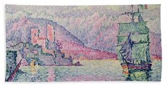 Antibes Beach Towel by Paul Signac