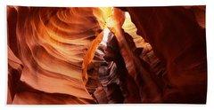 Antilope Canyon Beach Towel