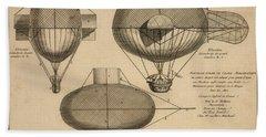 Antique Aeronautics Beach Sheet