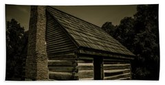 Antique Cabin - The Hermitage Beach Towel