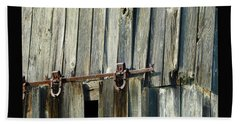 Antique Hinges Beach Sheet by Tina M Wenger