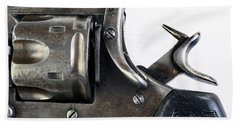 Antique Pistol With Hammer Back. Beach Towel