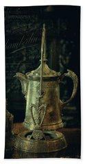 Antique Tea Pot Beach Sheet