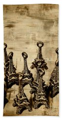 Antiques Of France Beach Towel