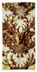 Antler Antiquities Beach Towel