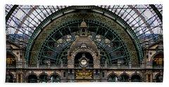 Antwerp Train Terminal Beach Sheet