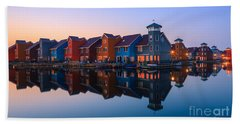Any Colour You Like - Reitdiephaven - Netherlands Beach Towel