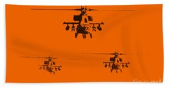 Apache Dawn Beach Towel by Pixel  Chimp