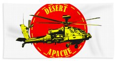 Apache On Desert Beach Towel