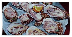Apalachicola Fresh Beach Towel