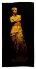 Aphrodite Of Milos Beach Towel