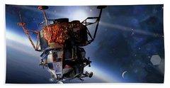 Apollo 9 Lunar Module Beach Towel