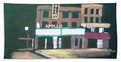 Apollo Theater New York City Beach Towel