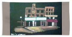 Apollo Theater New York City Beach Towel