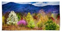 Appalachian Spring In The Holler Beach Sheet