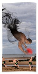 Apparition And Sighting Beach Towel