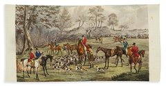 Beach Towel featuring the painting Apperley, Charles James The Life Of A Sportsman. By Nimrod. by Artistic Panda