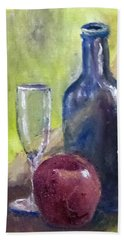 Apple And Wine Beach Sheet