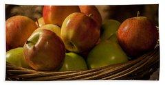 Apple Basket Beach Sheet