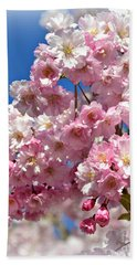 Apple Blossom Special Beach Sheet by Miriam Danar