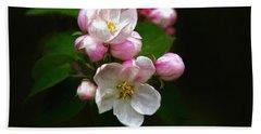 Apple Blossom Time Beach Towel