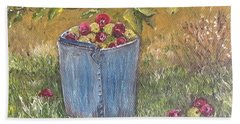 Apple Pickin'  Beach Towel