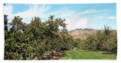 Apple Picking Beach Sheet